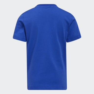 เด็ก บาสเกตบอล สีน้ำเงิน เสื้อยืด Little Kids You and I Are a Team