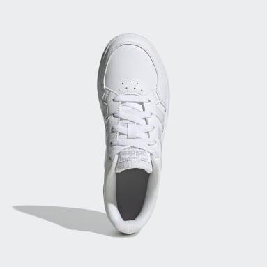 Kids Sport Inspired White Breaknet Shoes