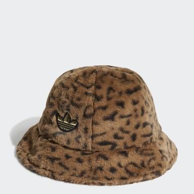 Originals viacfarebná Klobúk adidas SPRT Faux Fur Printed Bucket