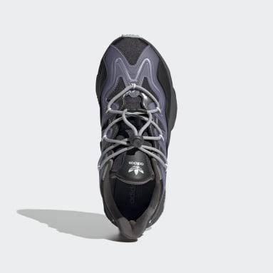 Women Originals Black OZWEEGO Plus Shoes