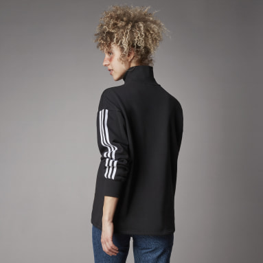 Dames Originals Zwart Adicolor Classics Sweatshirt