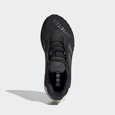 Chaussure SolarGlide 4 GORE-TEX Noir Femmes Running