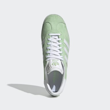Tenis Gazelle Verde Mujer Originals