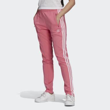 Pants Deportivos SST Primeblue Rosa Mujer Originals