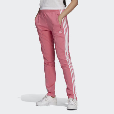 Kvinder Originals Pink Primeblue SST træningsbukser