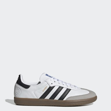 Men Originals White Samba Vegan Shoes