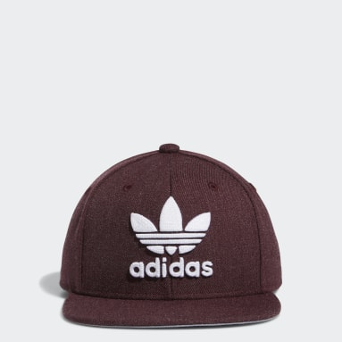 Children Originals Red Trefoil Chain Snapback Hat