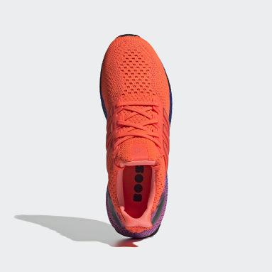 Running Orange Ultraboost DNA Shoes