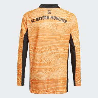 Boys Fodbold Orange FC Bayern 21/22 målmandstrøje