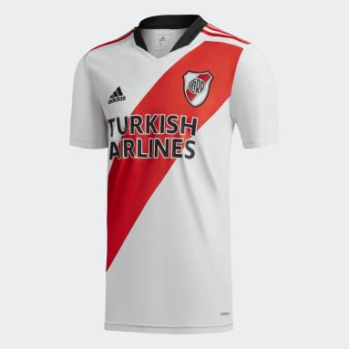 Camiseta Local River Plate 21/22 Blanco Hombre Fútbol