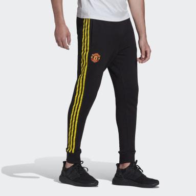 Pantalon Manchester United Seasonal Special Warm Noir Hommes Football