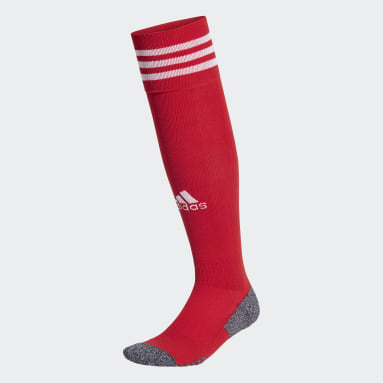 Fotbal červená Ponožky Adi 21