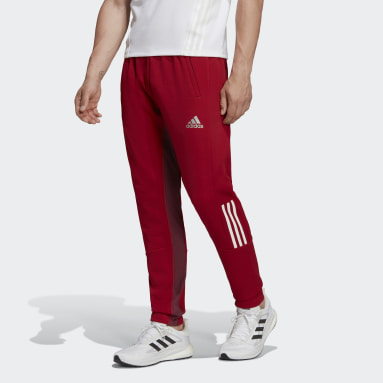 Men Gym & Training Red Track Joggers