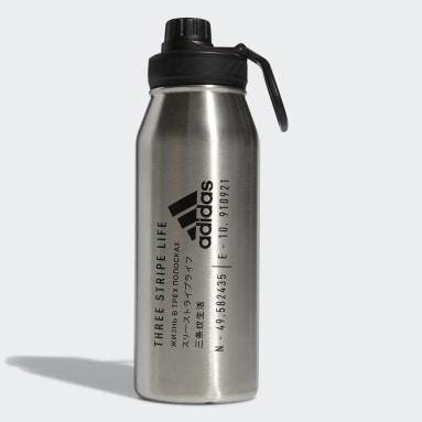 Boxing White Steel Metal Bottle 1L
