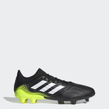Soccer Black Copa Sense.3 Firm Ground Cleats
