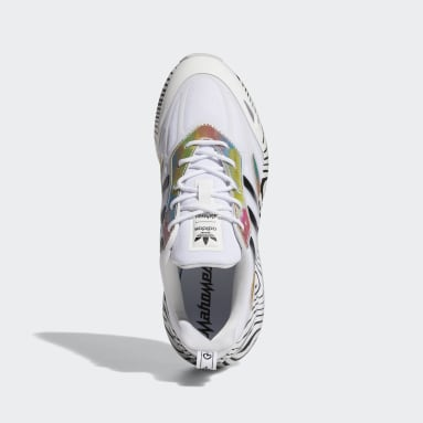 Men's Originals White ZX 2K Boost Patrick Mahomes Shoes