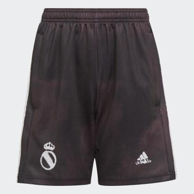 Pantalón corto Real Madrid Human Race Negro Niño Fútbol
