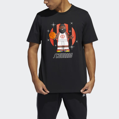 Herr Basket Svart adidas x LEGO® Tee Shortsleeve James Harden