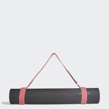 Kvinder Studio Sort adidas by Stella McCartney Yoga måtte