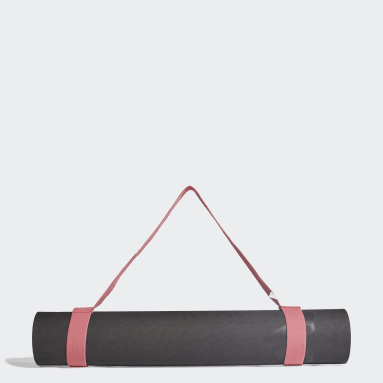 Ženy Štúdio čierna Podložka na jogu adidas by Stella McCartney