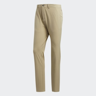 Men Golf Beige Ultimate365 Tapered Trousers