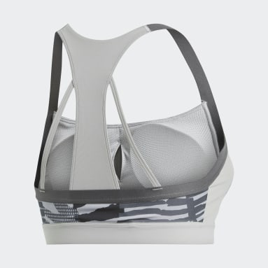 Top deportivo All Me Iteration Gris Mujer adidas by Stella McCartney