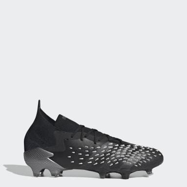 Fotboll Svart Predator Freak.1 Firm Ground Boots