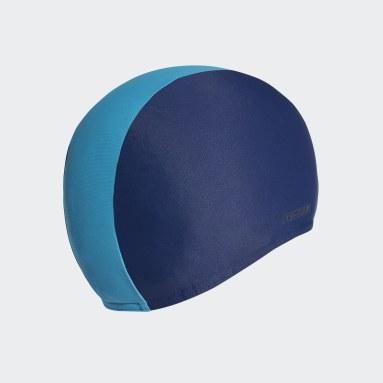 Kids Swim Blue Swim Cap