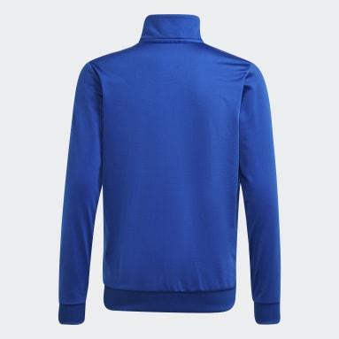 Chaqueta Adicolor Azul Niño Originals
