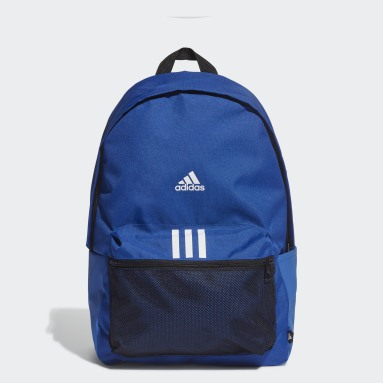 Lifestyle Blue Classic Badge of Sport 3-Stripes Backpack