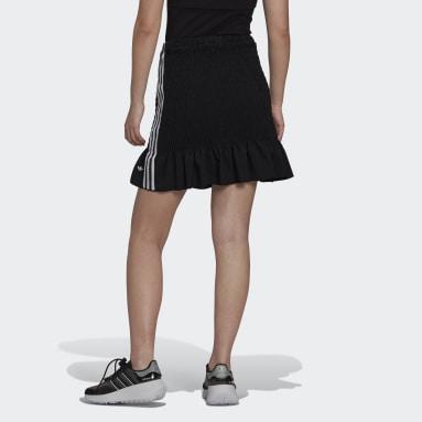 ผู้หญิง Originals สีดำ กระโปรงสม็อค