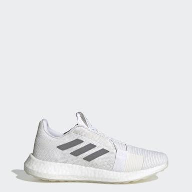 Women's Running White Senseboost GO Shoes