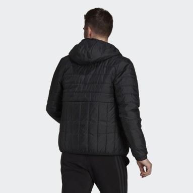 Muži Městský Outdoor černá Bunda Itavic 3-Stripes Light Hooded