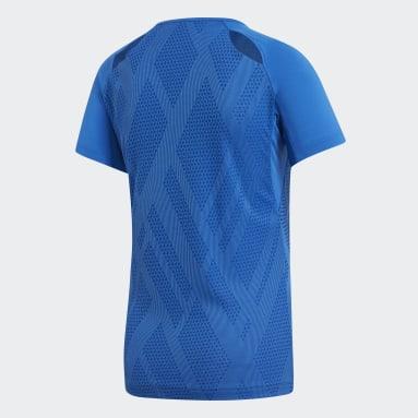 Women's Volleyball Blue Quickset Jersey