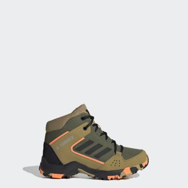 Children TERREX Green Terrex Hyperhiker Hiking Shoes