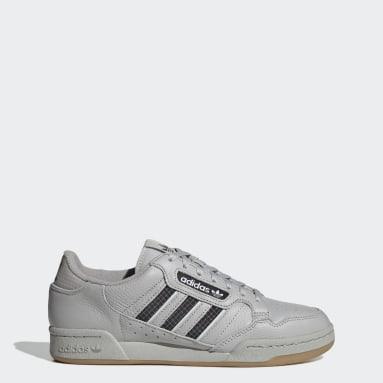 Heren Originals Grijs Continental 80 Stripes Schoenen