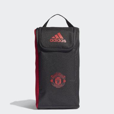 ฟุตบอล สีดำ กระเป๋ารองเท้า Manchester United