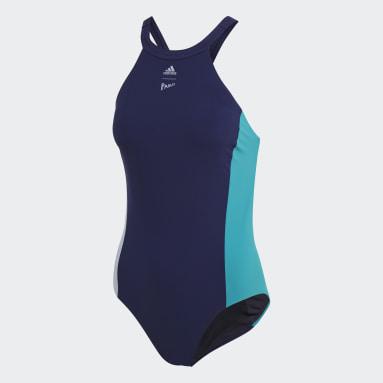 Traje de Baño Parley Hero Azul Mujer Natación