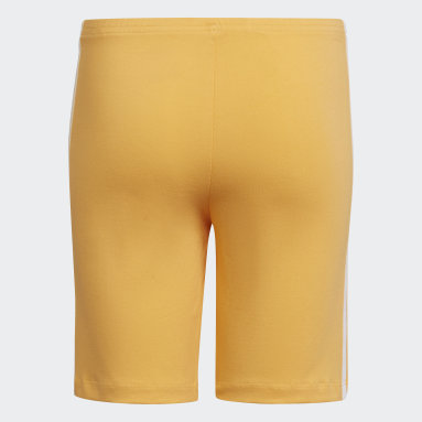 Youth Originals Orange Cycling Shorts