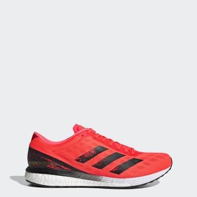 Løb Orange Adizero Boston 9 sko