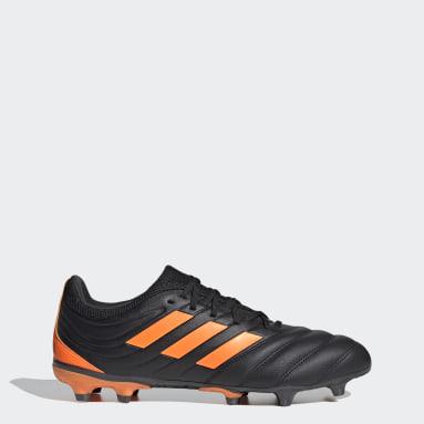 Men Football Black Copa 20.3 Firm Ground Boots
