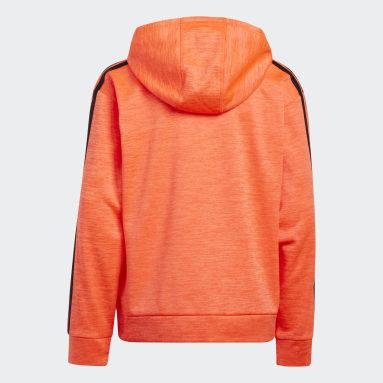 Youth Training Orange Fade Horizon Hoodie (Extended Size)