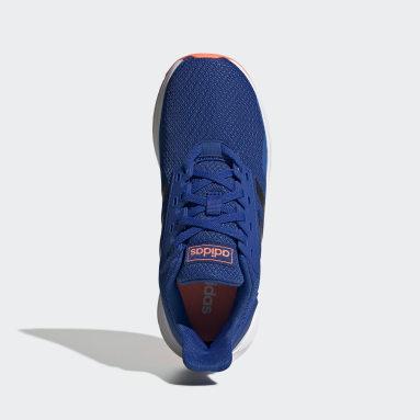 Kids Running Blue Duramo 9 Shoes