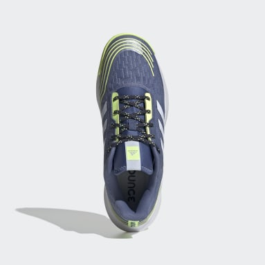 Men Training Blue Novaflight Volleyball Shoes