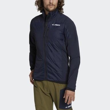 Männer TERREX TERREX Primaloft Hybrid Insulation Jacke Blau