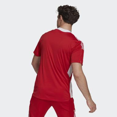 Männer Fußball Ajax Tiro Trainingstrikot Rot