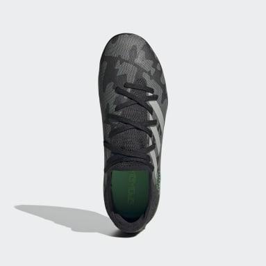 Chaussure Gamemode Knit Indoor Noir Enfants Football