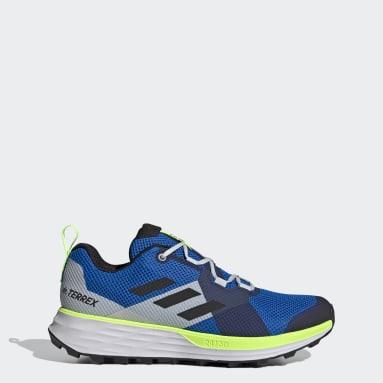 Men's TERREX Blue Terrex Two Trail Running Shoes