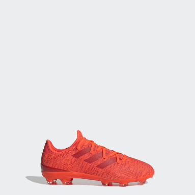Scarpe da calcio Gamemode Knit Firm Ground Arancione Bambini Calcio