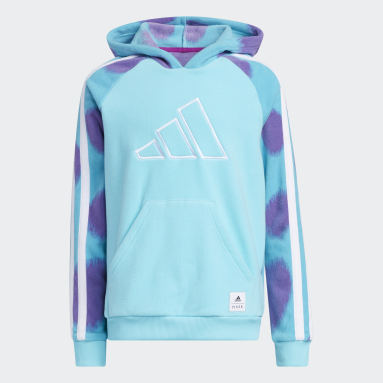 Children Basketball Turquoise Sulley Hoodie